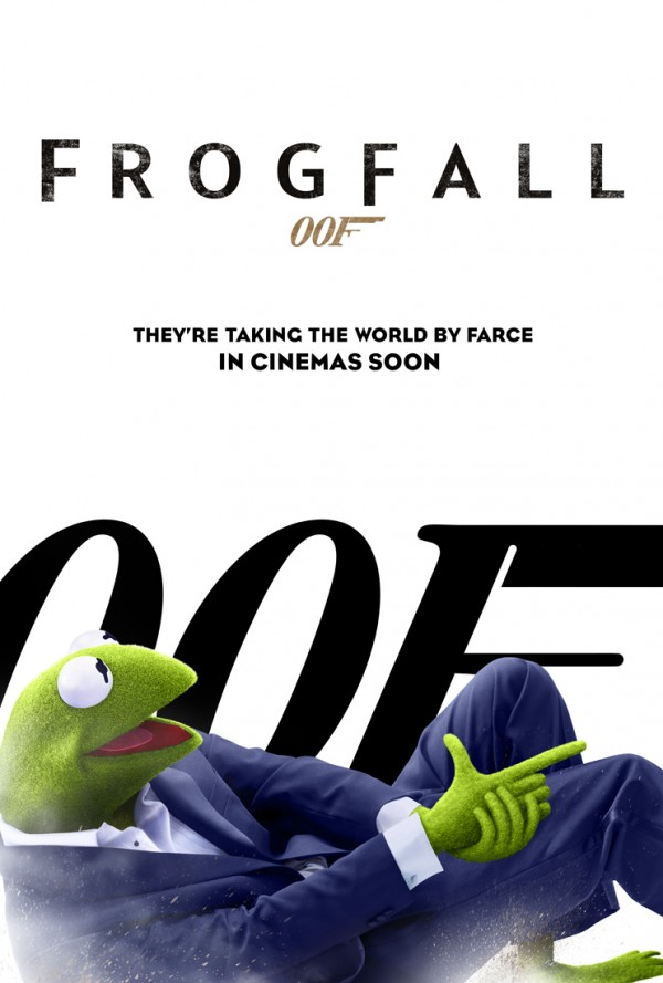 Parody poster for The Muppets Most Wanted, http://jamesbond.wikia.com/wiki/Parodies_%26_Imitations