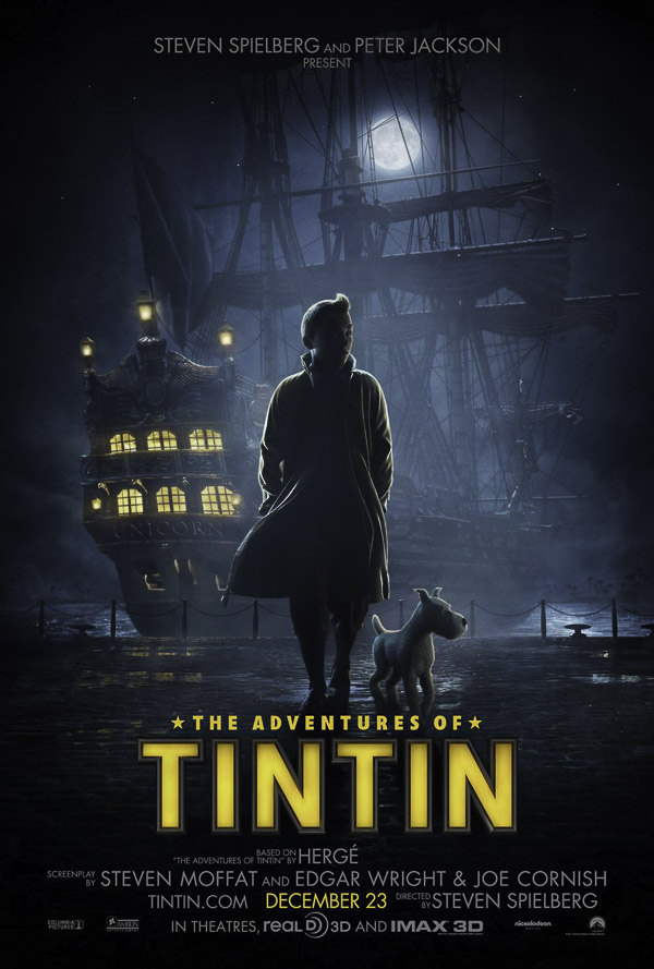 Adventures of Tintin, Steven Spielberg, 2011