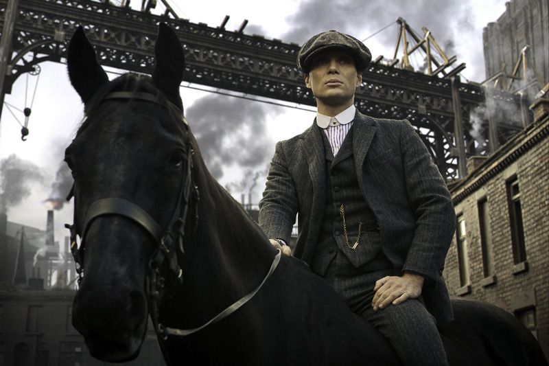 Peaky Blinders, BBC series, 2014