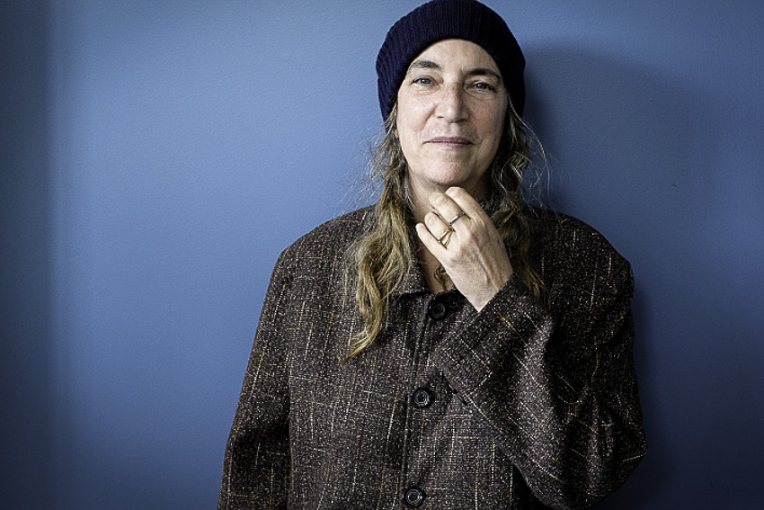 20130912 Patti Smith, Nate Ryan