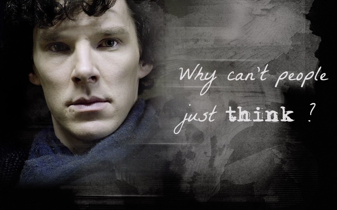 BBC Sherlock wallpaper by helenecolin