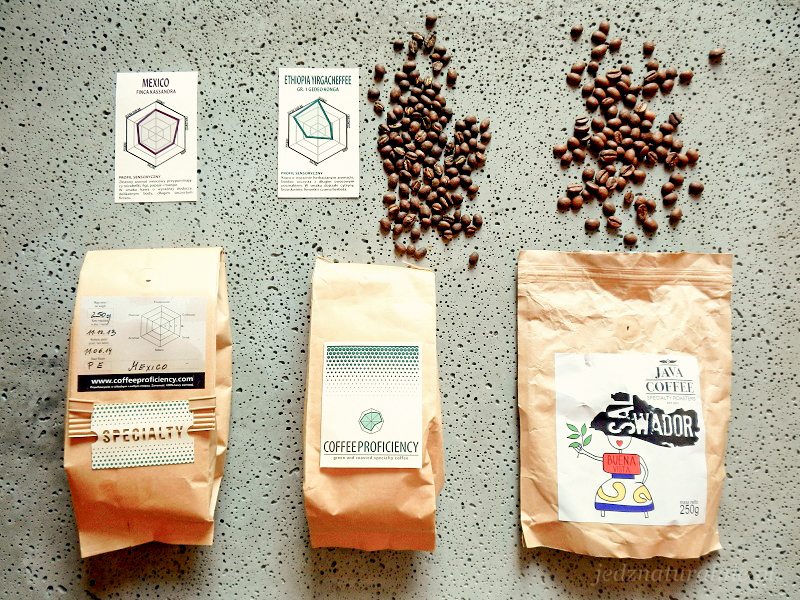 Single kawowe - Salvador od Java Coffee i Etiopia Yergacheffee oraz Meksyk Finca Kassandra od Coffee Proficiency