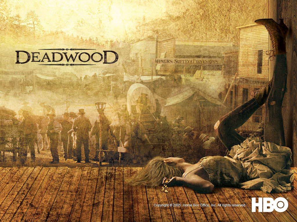 David Milch, Deadwood, 2004