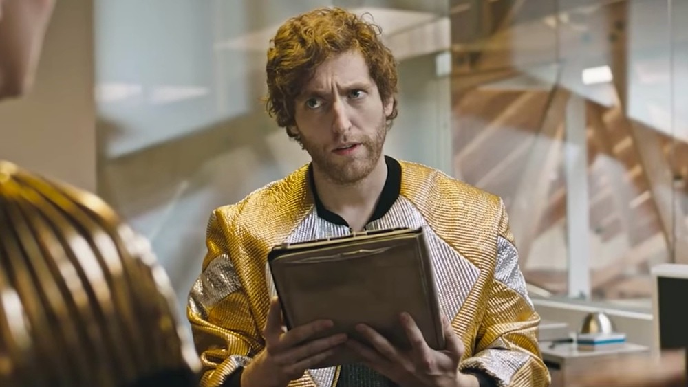 Thomas Middleditch w Sunspring, by AI Benjamin, 2016.